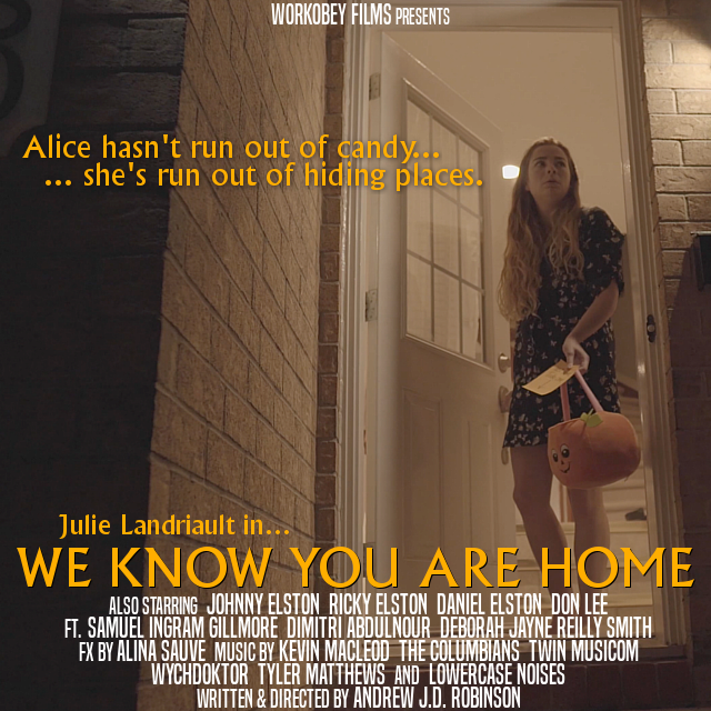 we know you are home poster